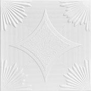 """Sunset Boulevard - Styrofoam Ceiling Tile - 20""""x20"""" - #R35"""