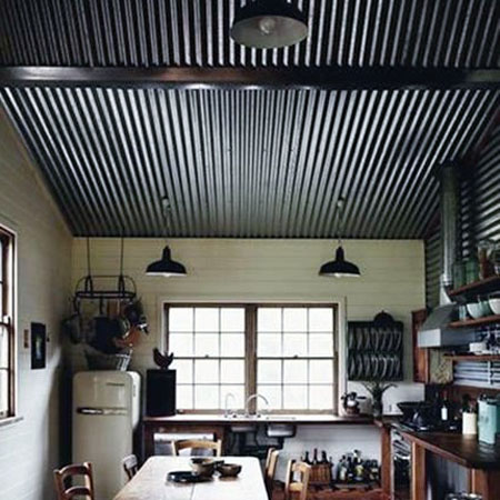 Wonderful Industrial Style Ceiling Pictures - Best idea home .