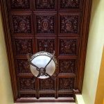 "Da Vinci - Faux Tin Ceiling Tile - Drop in - 24""x24"" - #215"