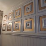 Deco Seashore – Faux Tin Ceiling Tile – Glue up – 24″x24″ – #112
