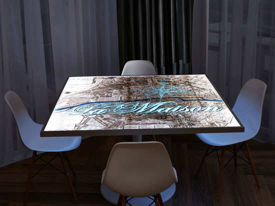 LumiSplash Laminates – Table Tops