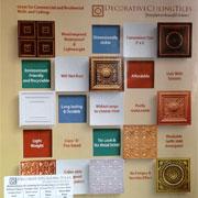 Miniature Samples - Faux Tin Ceiling Tiles