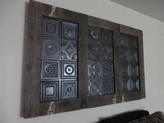 Miniature Samples – Faux Tin Ceiling Tiles