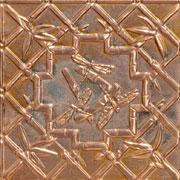 """Dragonflies - Copper Ceiling Tile - 24""""x24"""" - #2489"""