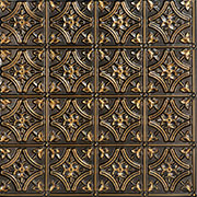 Gothic Reims – Faux Tin Ceiling Tile – Glue up – 24″x24″ – #150