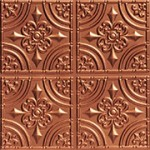 Wrought Iron – Faux Tin Ceiling Tile – Glue up – 24″x24″ – #205