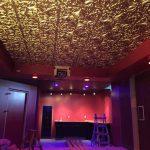 """Golden Prague - Faux Tin Ceiling Tile - Glue up - 24""""x24"""" - #218"""