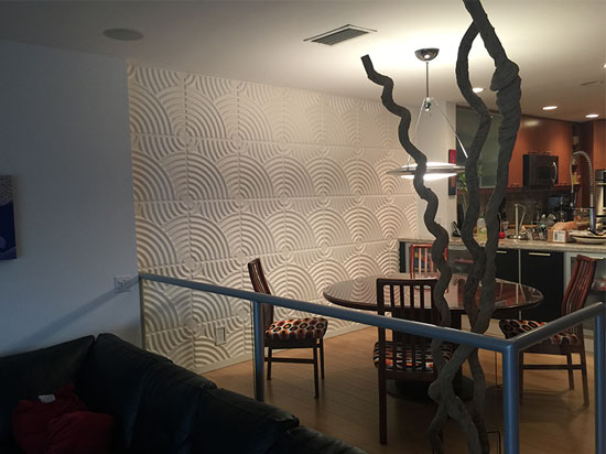3D Wall Panels – Bamboo Pulp – #51