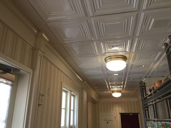 Edgerton Square – Aluminum Ceiling Tile – #2401