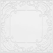 Queen Anne Lace - Aluminum Ceiling Tile - #2406