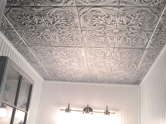 Bathroom dct gallery for Decorative ceilings
