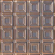 Times Squares - Copper Ceiling Tile - #0601