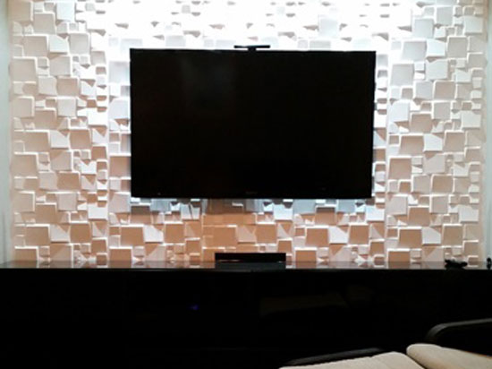 3D Wall Panels – Bamboo Pulp – #52