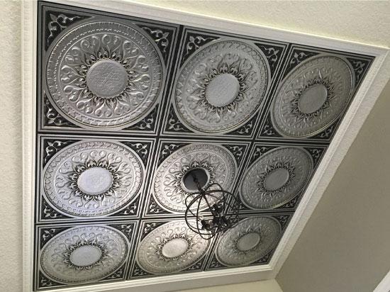 Apollo – Faux Tin Ceiling Tile – 24″x24″ – #226