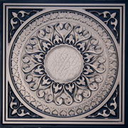 "Apollo - Faux Tin Ceiling Tile - 24""x24"" - #226"