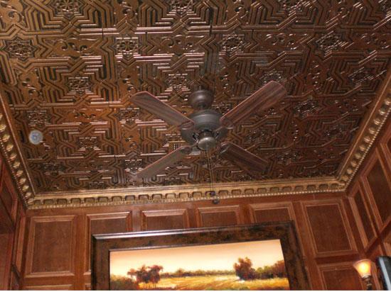 Bollywood Faux Tin Ceiling Tiles Glue Up 24 X24