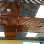 """Corrugated – MirroFlex – Ceiling Tiles Pack - Installed at """"Discount Tickets"""" - Orlando, Florida, USA"""
