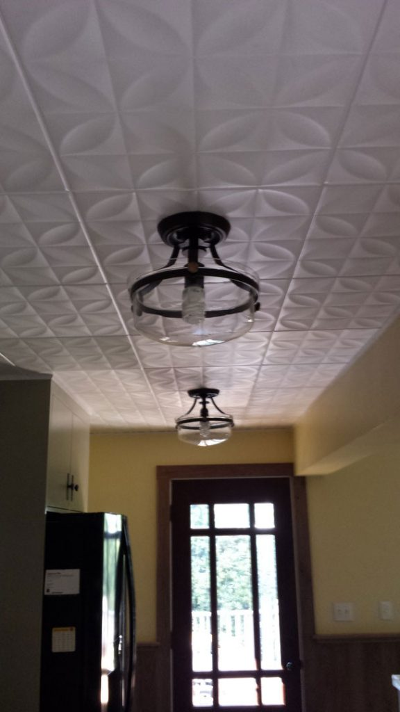 Perceptions Styrofoam Ceiling Tile 20 X20 R103