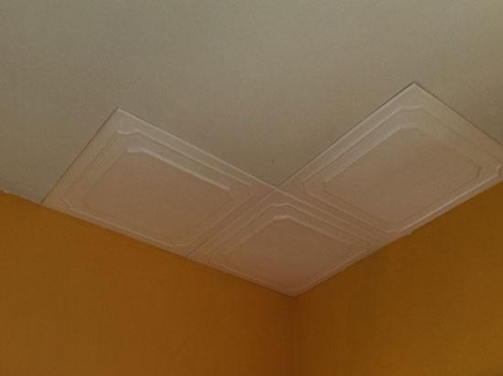 Styrofoam Ceiling Tile – 20″x20″ – #R102