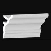 """DIY_Foam_Crown_Molding-5.5""""-#CC555"""