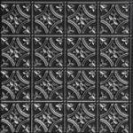 "Gothic Reims - Faux Tin Ceiling Tile - 24""x24"" - #150"