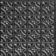 "Gothic Reims - Faux Tin Ceiling Tile - 24""x24"" - #150"