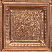 "Jackson Square - Copper Ceiling Tile - 24"" x 24"" - #2431"
