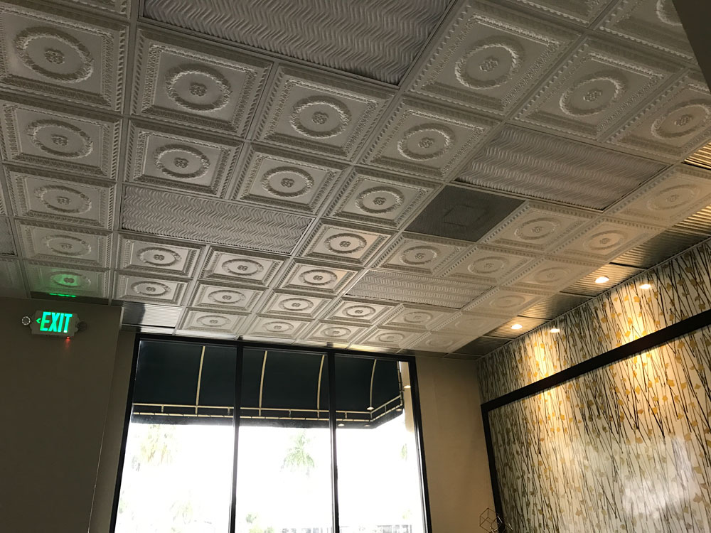 Faux Tin Ceiling Tiles Plastic Tin Ceiling Tile Faux