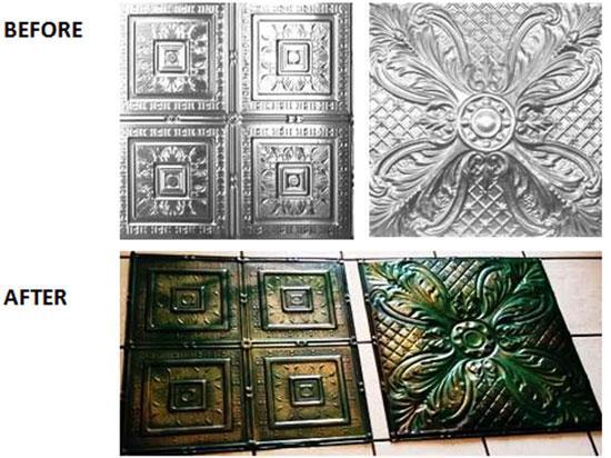 Tropical Fantasy – Aluminum Ceiling Tile – 24″x24″ – #12004
