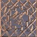 "Dragonflies - Copper Ceiling Tile - 24""x24"" - #2489"
