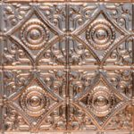 "Harry's Scrollwork - Copper Ceiling Tile - 24""x24"" - #1219"