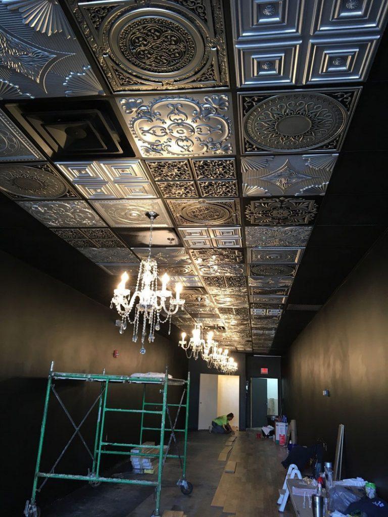 tiles silver tile ceiling idea library tin by schoolhouse photos color ideas glueup faux net decorativeceilingtiles