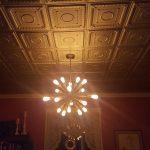 "Romanesque Wreath - Styrofoam Ceiling Tile - 20"" x 20"" - #R 47"