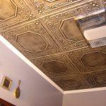 "Topkapi Palace - Styrofoam Ceiling Tile - 20""x20"" - #R32c"