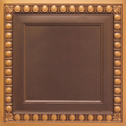 "Faux Tin Ceiling Tile - 24""x24"" - #260"