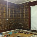 "Kismet - Faux Tin Ceiling Tile - 24""x24"" - #245"