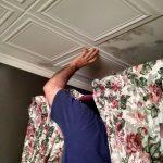 """Line Art - Styrofoam Ceiling Tile - 20""""x20"""" - #R 24"""