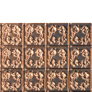 Autumn Leaves - Copper Backsplash Tile - #0608