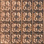 """Autumn Leaves - Copper Ceiling Tile - 24"""" x 24"""" - #0608"""