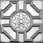 """Baroque Medallion - Aluminum - 24""""x24"""" - #2408"""