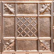 Coat of Arms - Copper Ceiling Tile - #2450