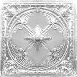 "Compass Rose - Aluminum Ceiling Tile - 24""x24"" - #2453"