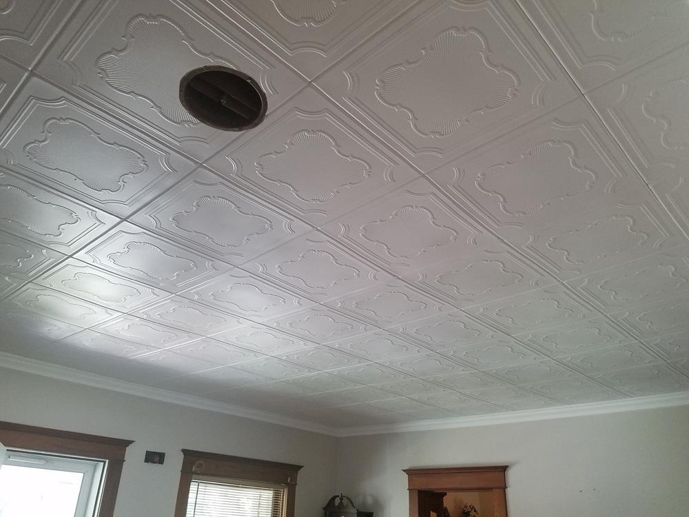 Coronado Styrofoam Ceiling Tile 20 X20 R74 Dct