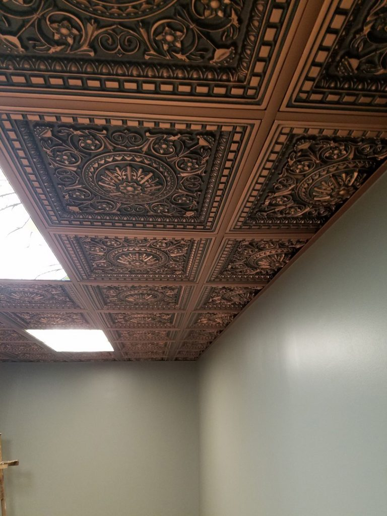Da vinci faux tin ceiling tile drop in 24x24 215 dct da vinci faux tin ceiling tile drop in 24x24 215 dailygadgetfo Image collections
