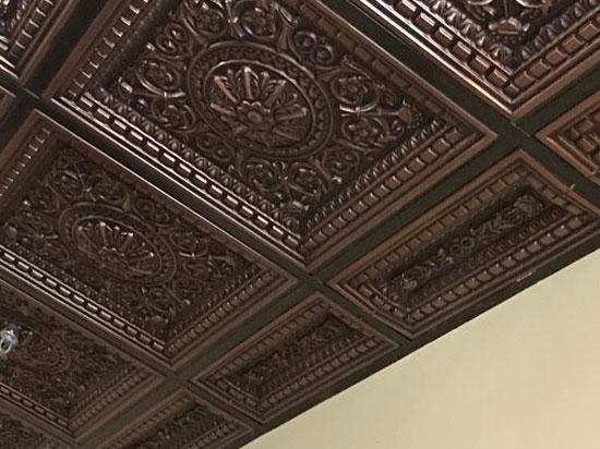 Da Vinci Faux Tin Ceiling Tile Drop In 24 X24 215 Dct Gallery