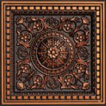 "Da Vinci - Faux Tin Ceiling Tile - Drop in - 24""x24"" - #215"