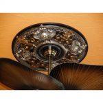 Dark Platinum - FAD Hand Painted Ceiling Medallion - #CCMF-035