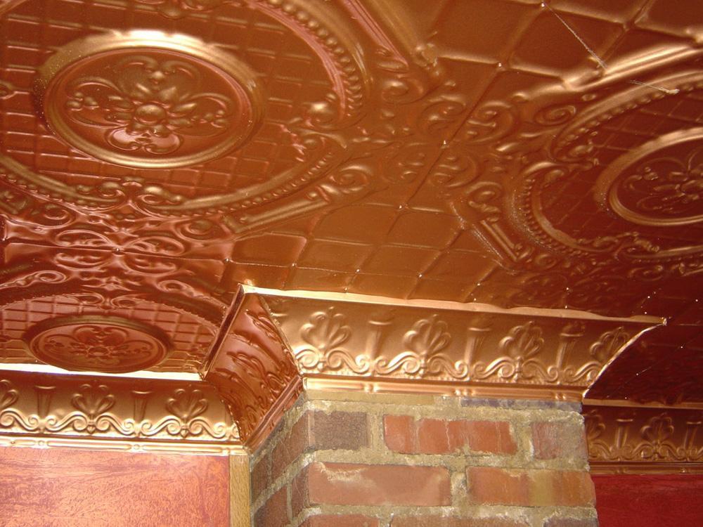 English Garden Tin Ceiling Tile 2409