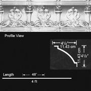 Duchess Aluminum Cornice - Nail up - #EC0400