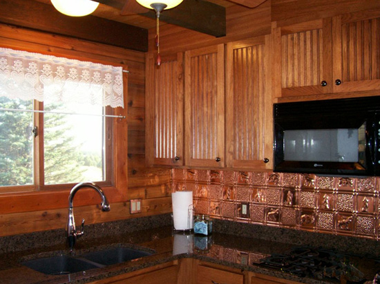Gwen's Cabin – Copper Backsplash Tile – #0512